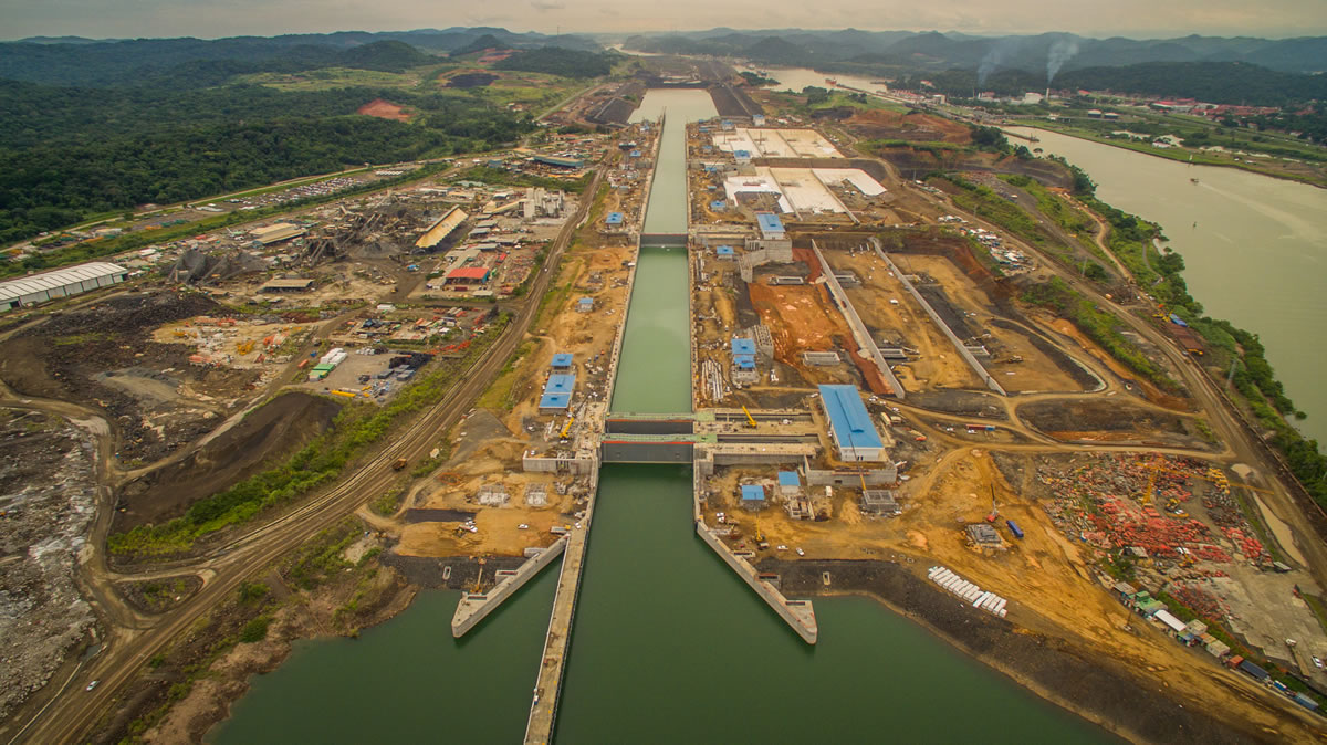 panama canal expansion Agua clara, panama - the first test runs have begun on the newly expanded panama canal tugs nudged the bulk cargo carrier baroque into the first of three levels of locks on the atlantic side of.