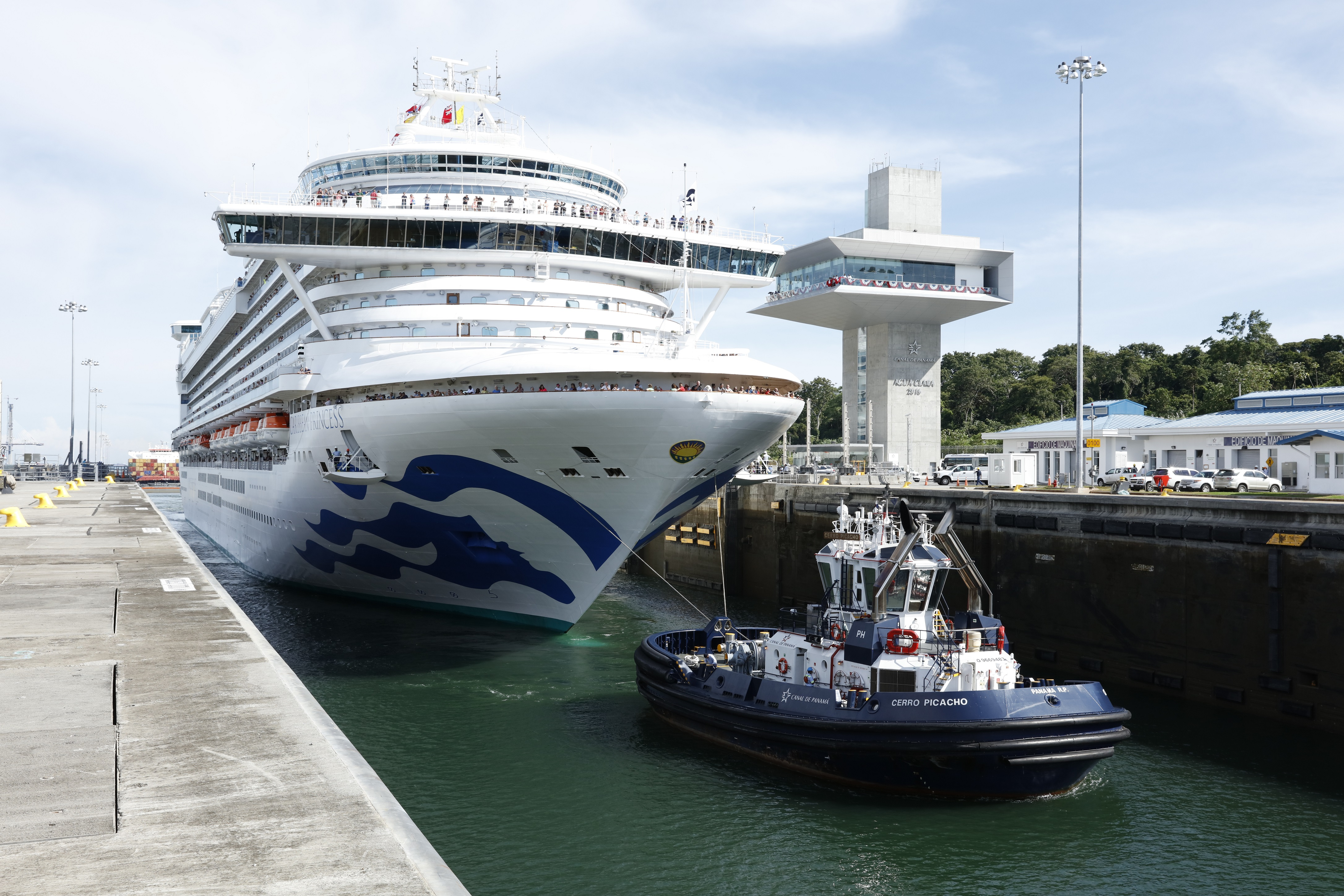 Press Releases Expanded Panama Canal - Cruise ship anal