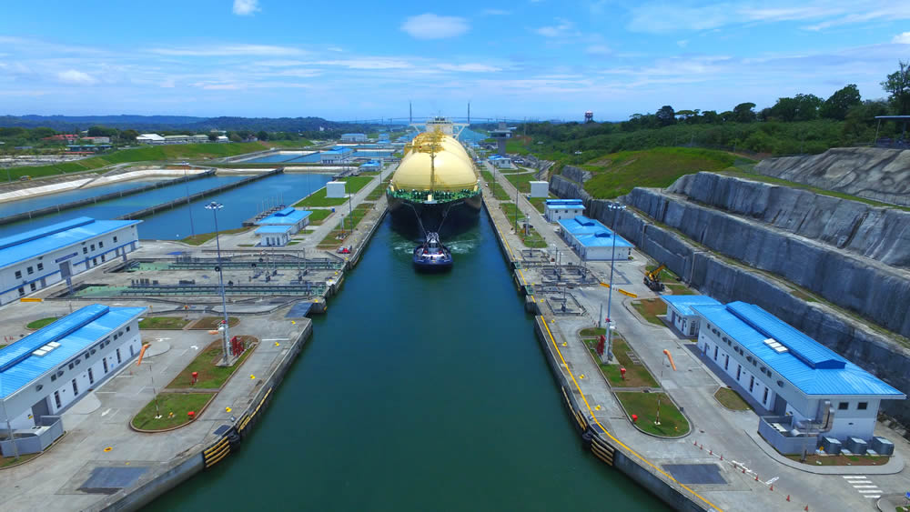 Second Inaugural >> Panama Canal Consolidates its Strategic Position in the Transportation of Liquefied Natural Gas ...