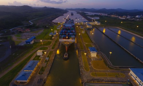 Panama Canal Welcomes 5,000th Neopanamax Transit